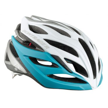 Bontrager Circuit WSD Road Helmet/ White/Light Blue