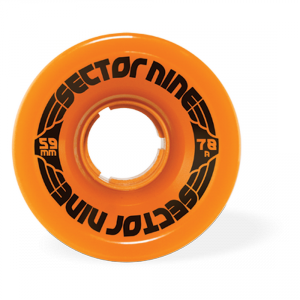 Sector 9 Nine Balls 59MM 78A/ Orange