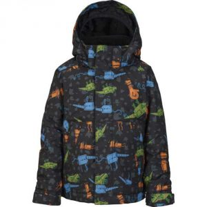 Boys' Minishred Amped Snowboard Jacket 2016/ Cyborgasaurus Rex