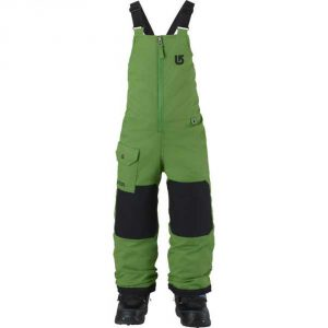 Boys' Minishred Maven Bib Snowboard Pant 2016/ Slime [bluesign® Approved]