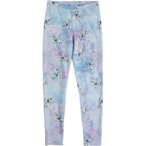 Burton Disney Frozen Girls' Legging W 16/ Olaf Print [© Disney]