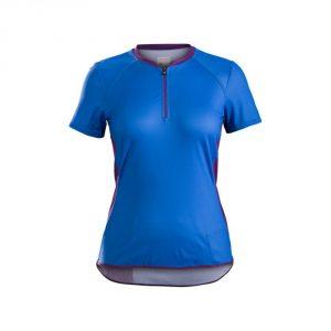 Bontrager Evoke Women`s Jersey S16/ Waterloo Blue / Lotus
