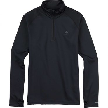 Burton Expedition 1/4 Zip Base Layer 2017/ True Black