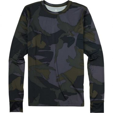 Burton Lightweight Base Layer Crew 2017/ Beetle Derby Camo