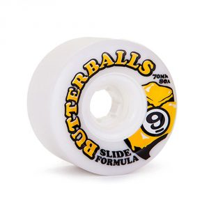 Sector 9 Butterballs 70MM 80A / White