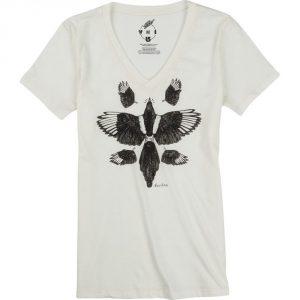 Burton Starling V-Neck Recycled T-Shirt SS 16 / Vanilla Heather