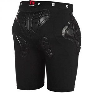 Burton Youth Total Impact Short, Protected By G-Form™2016/ True Black