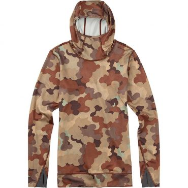 Burton Women's ak Power Stretch Hood 2017/ Storm Camo