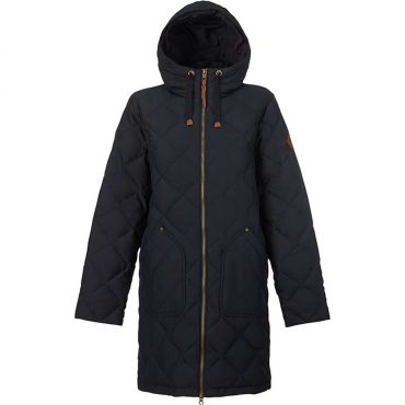 Burton Bixby Long Down Jacket 2017/ True Black