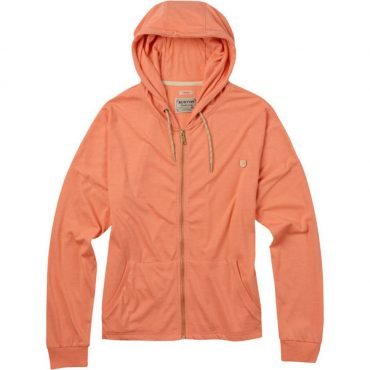 Burton Favorite Full-Zip Hoodie SS 16 / Light Orange Heather