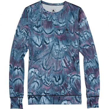 Burton Women's Base Layer Midweight Crew 2017/ Feathers