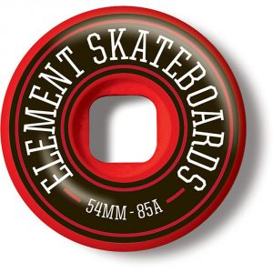 Element Filmer 54MM Red Wheels 2016