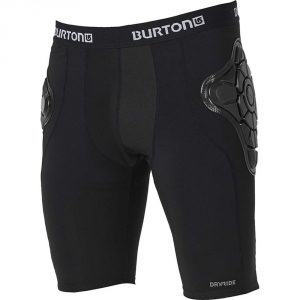 Burton Youth Total Impact Short, Protected by G-Form 2017/ True Black