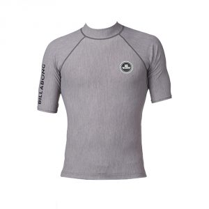 Billabong All Day Rashguard SS 16 / Grey Heather