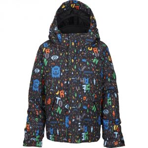 Mini-Shred Boys' Amped Jacket 2015/ Yeah! Print