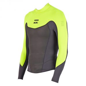 Billabong Foil 1X0.5 Long Sleeve Jacket SS 16 / Fluro Lime