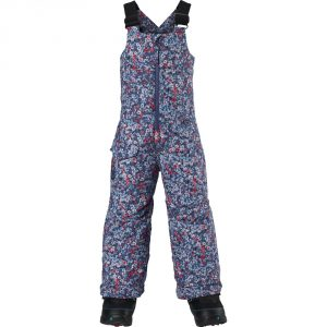 Mini-Shred Girls' Maven Bib Pant 2015/ Sorcerer Confetti Floral