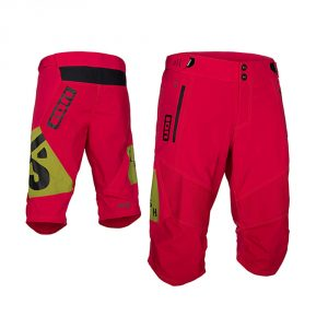 Ion Bike Shorts Sabotage / Crimson Red