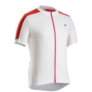 Bontrager Starvos Jersey/ White/ Bonty Red