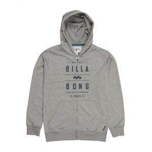 Billabong Mast Boys Zip Hood SS 16 / Neutral Grey