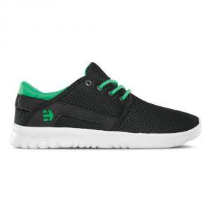 Etnies Scout Kids SS 16 / Black / Green