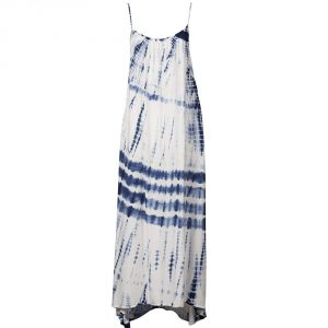 Billabong Silver Bloom Maxi Dress 2016/ Blue Cruz
