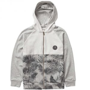Billabong The Bay Boy Zip Hood SS 16 / Neutral Grey