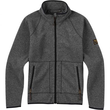 Burton Kids Spark Full-Zip Fleece 2017/ True Black Heather