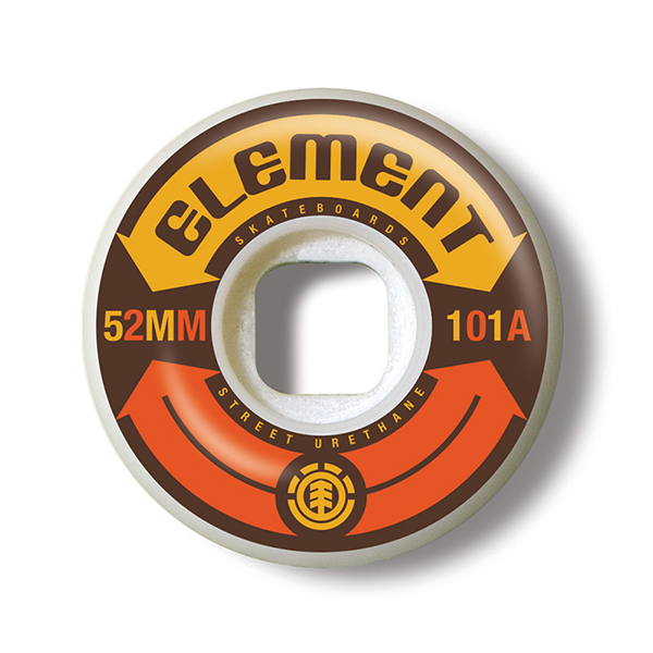 Element Infinity Street 52MM Wheels 2017