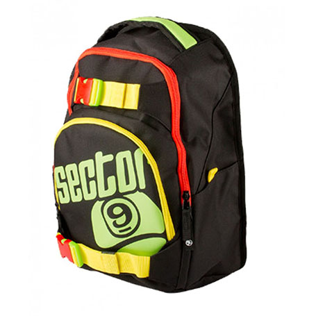 Sector 9 Pursuit Backpack SS17/ Black/ Rasta