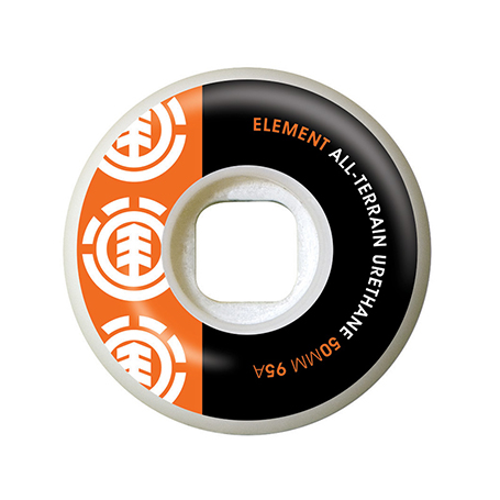 Element Section Org/Blk 50MM Wheels SS17
