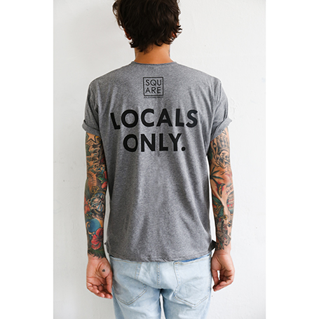SQUARE Locals Only T-Shirt